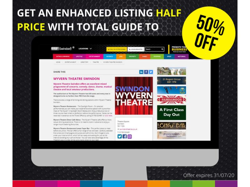 Enhanced Profile Listing - July 20 Lockdown Easing 50% Discount!
